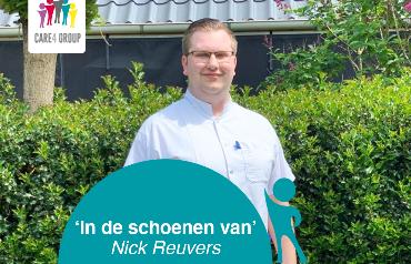 IN DE SCHOENEN VAN: Nick Reuvers